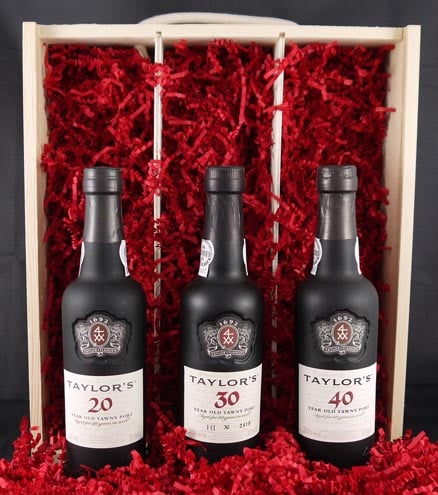 1926 Taylor Fladgate 90 years of Port (3 X 35cl).
