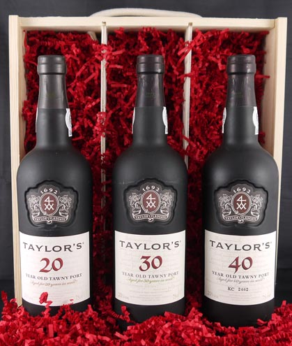 1926 Taylor Fladgate 90 years of Port (3 X 75cl).