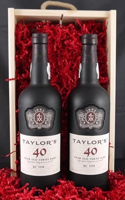 1936 Taylor Fladgate 80 years of Port (2 X 75cl)