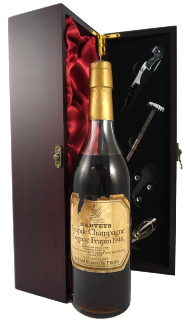 1946 Harvey's Grand Champagne Frapin Cognac 1946