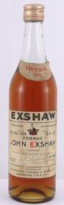 1953 Exshaw Grande Champagne Cognac 1953 (70cl)