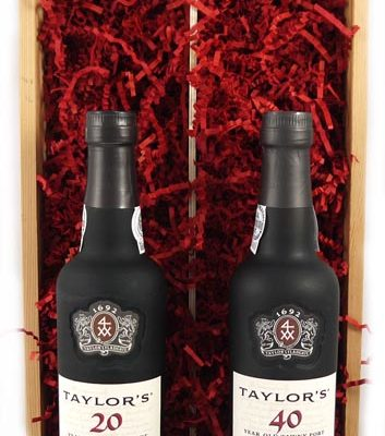 1956 Taylors 60 years of Port (35cl X2)