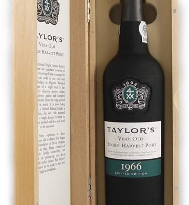 1966 Taylor Fladgate Very Old Single Harvest Port 1966 (Taylor's Wooden Box)