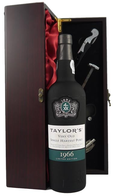 1966 Taylor Fladgate Very Old Single Harvest Port 1966 (Vintagewinegifts Deluxe box)