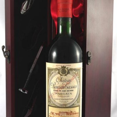 1973 Chateau Rauzan-Gassies 1973 2eme Grand Cru Classe Margaux