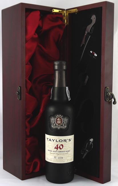 1976 Taylor Fladgate 40 year old Tawny Port (37.5cls)