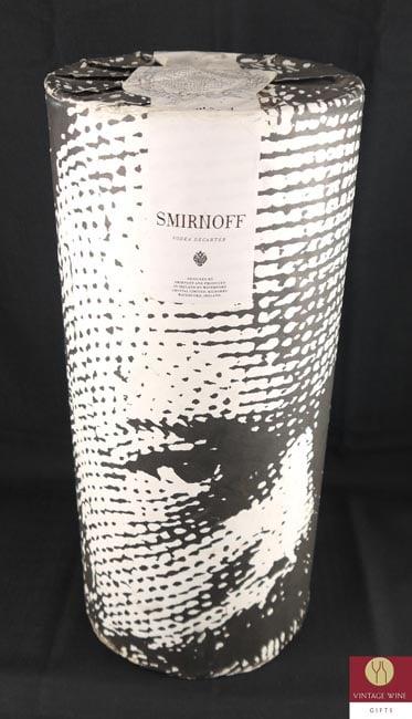 1980's Smirnoff Waterford Czar Alexander III crystal decanter
