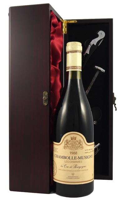 1988 Chambolle Musigny 1er Cru Les Charmes 1988 Jean Bertheau