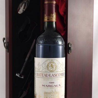 1989 Chateau Lascombes 1989 2eme Grand Cru Classe Margaux