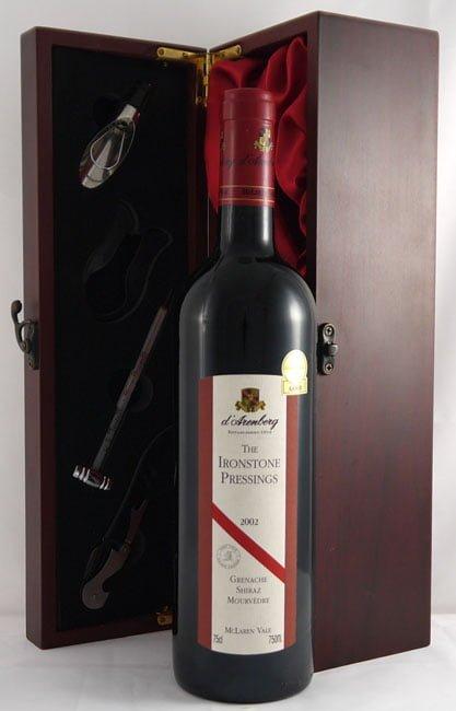 2002 d'Arenberg The Ironstone Pressings Grenache/Shiraz/Mouvedre 2002 McLaren Vale (6 bottles)