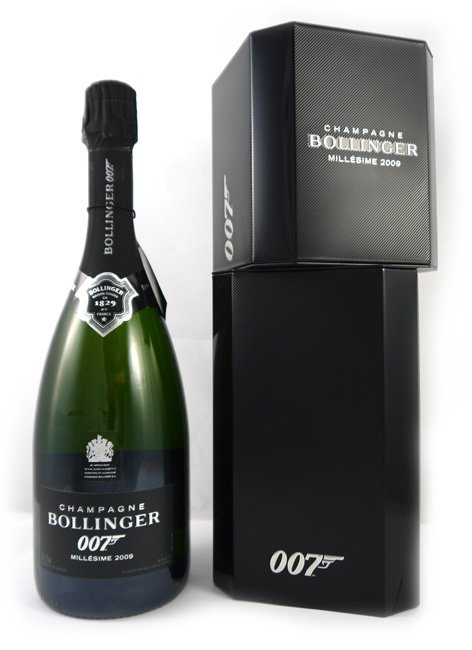 2009 Bollinger SPECTRE LIMITED EDITION Vintage Champagne 2009
