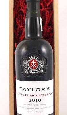 2010 Taylor Fladgate Late Bottled Vintage Port 2010
