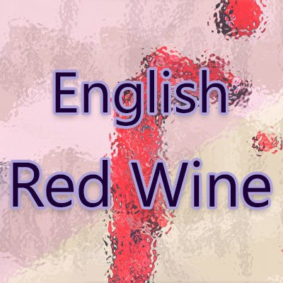 English Red Wine