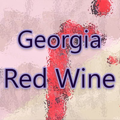 Georgia Red Wine