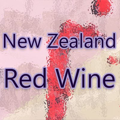 New Zealand Red Wine