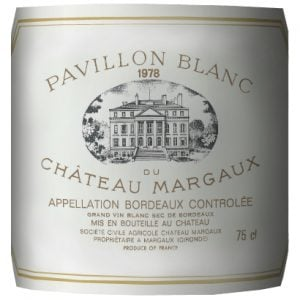 Château Margaux – Pavillon Blanc