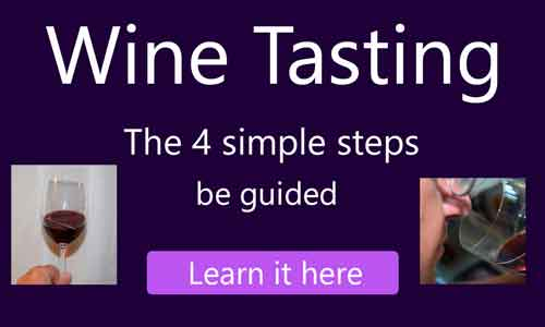 Wine Tasting - learn the 4 simple steps