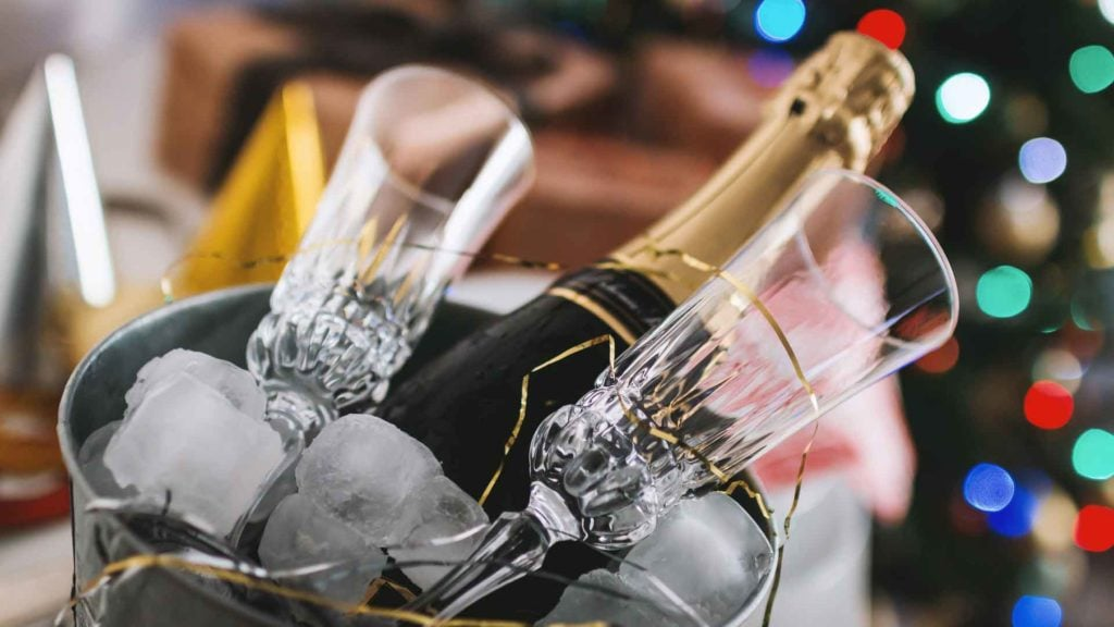 Sparkling Wine often has a lower level of sulfites