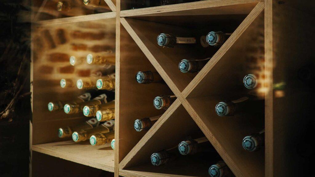 Store the bottles safe