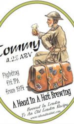 A Head In A Hat - Tommy Ale IPA 24x 330ml Bottles