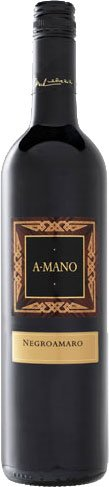 A Mano - Negroamaro 2013 75cl Bottle