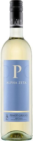 Alpha Zeta - P Pinot Grigio 2014 75cl Bottle