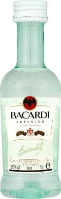 Bacardi - Carta Blanca Miniature 5cl Miniature