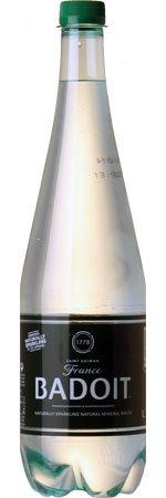 Badoit Green Plastic 1000ml Bottles