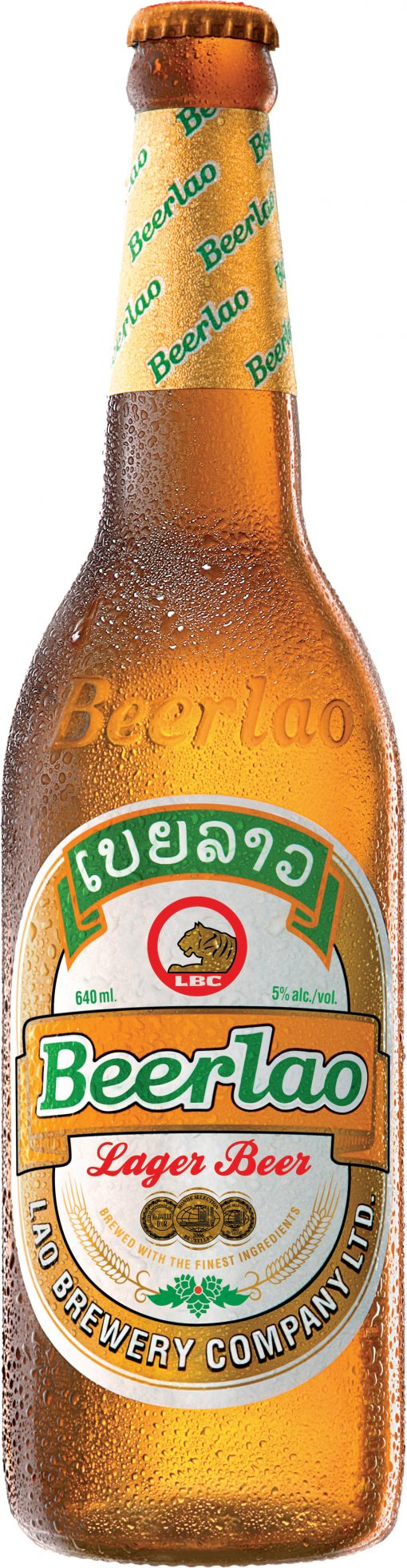 Beerlao 12x 640ml Bottles