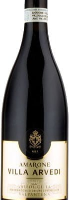 Bertani - Amarone Valpolicella Valpantena Doc Villa Arvedi 2010-12 75cl Bottle