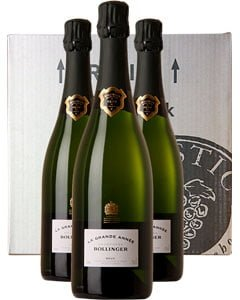 Bollinger Grande Année Three Bottle Champagne Gift 3 x 75cl Bottles