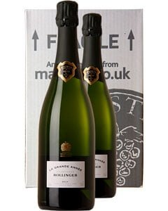 Bollinger Grande Année Two Bottle Champagne Gift 2 x 75cl Bottles
