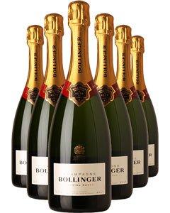 Bollinger Special Cuvée Six Bottle Champagne Gift 6 x 75cl Bottles