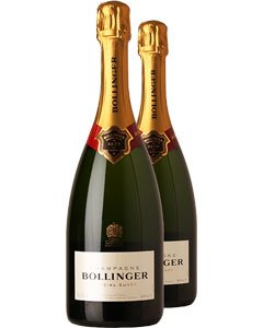 Bollinger Special Cuvée Two Bottle Champagne Gift 2 x 75cl Bottles