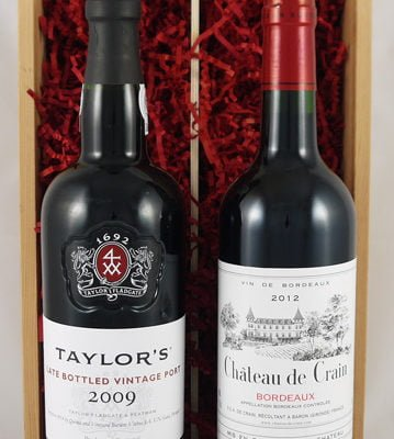 Bordeaux Claret/Taylor Fladgate LBV Port Twin Pack