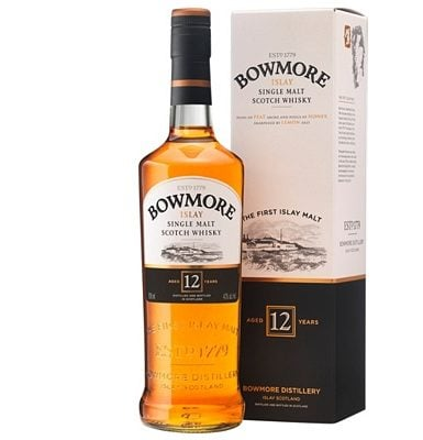 Bowmore 12-year-old Islay Single Malt Whisky