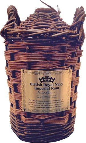 British Royal Navy Imperial Rum Imperial Gallon (4.54 Litres)