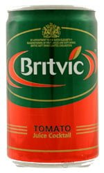 Britvic - Tomato Juice (Mini Cans) 24x 150ml Cans