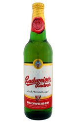 Budweiser Budvar 20x 500ml Bottles