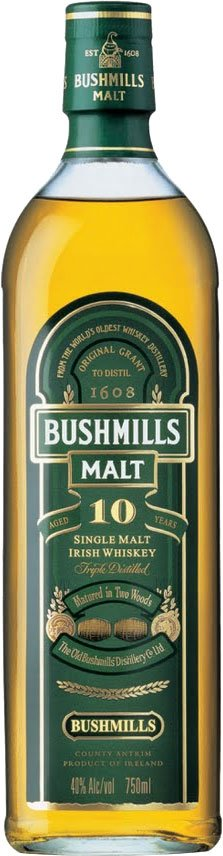 Bushmills - 10 Year Old 70cl Bottle
