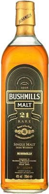 Bushmills - 21 Year Old 70cl Bottle