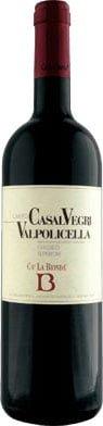 """Ca' La Bionda - Valpolicella Classico Superiore """"Casal Vegri"""" 2013 75cl Bottle"""