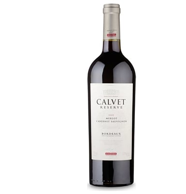 Calvet Reserve Merlot/cabernet Sauvignon