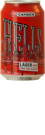 Camden Hells Lager 6 x 330ml Cans