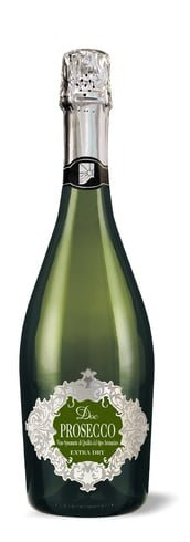 Cantina Colli Euganei Sca - Prosecco Spumante Extra Dry DOC 2015 75cl Bottle