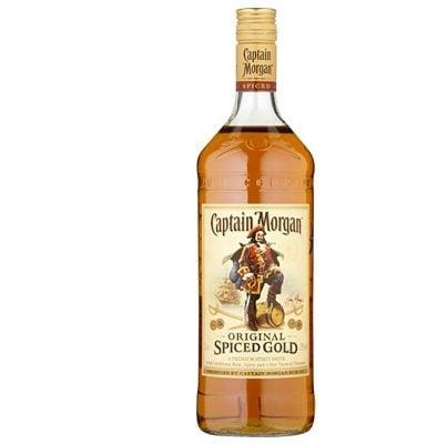 Captain Morgans Spiced Rum 1 Litre