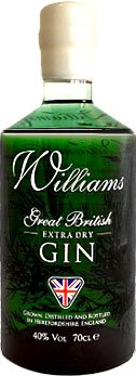 Chase Distillery - Williams Great British Extra Dry Gin 70cl Bottle