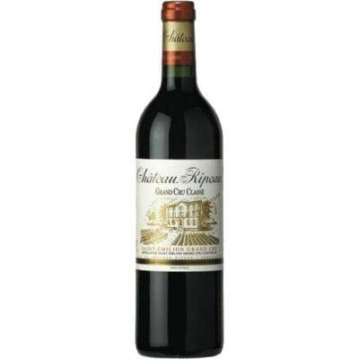 Chateau Ripeau- Saint Emilion Grand Cru Classe 2000 6x 75cl Bottles