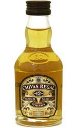 Chivas Regal - 12 Year Old Miniature 5cl Miniature