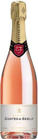 Coates & Seely - Brut Rose NV 75cl Bottle